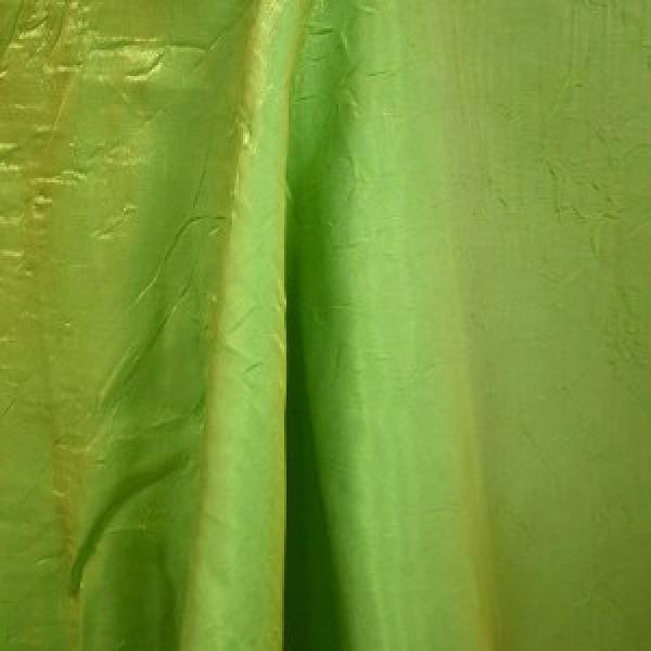 "Table Overlay - Crushed Silk - Lime 72"" x 72"""