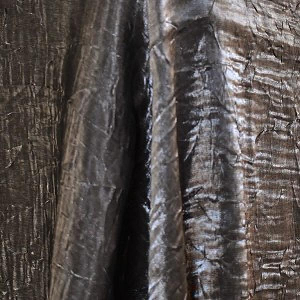 "Table Overlay - Crushed Silk - Platinum 72"" x 72"""