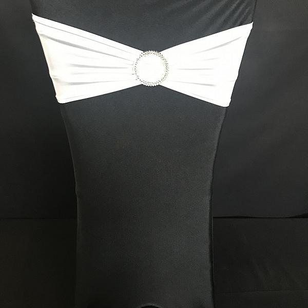 Chair Cover - Spandex - Black