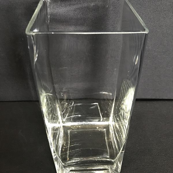 "Square Vase - 3.5"" x 8"""
