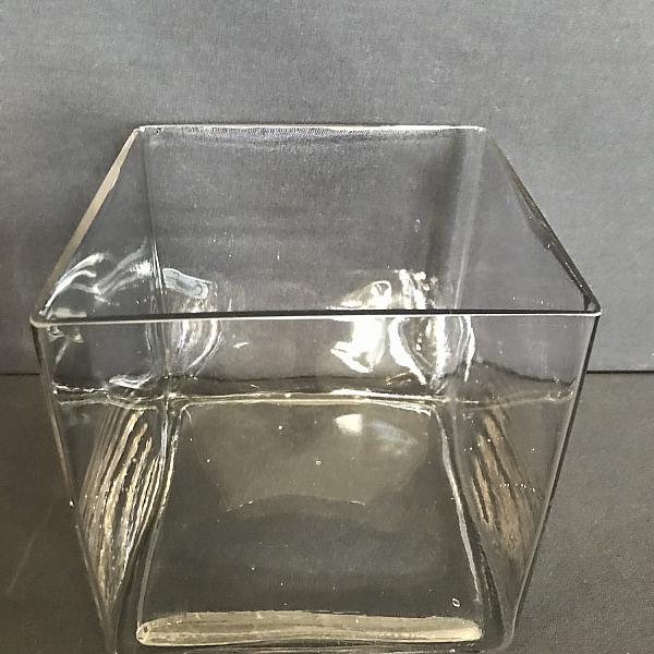 "Square Vase 8"" x  8"""