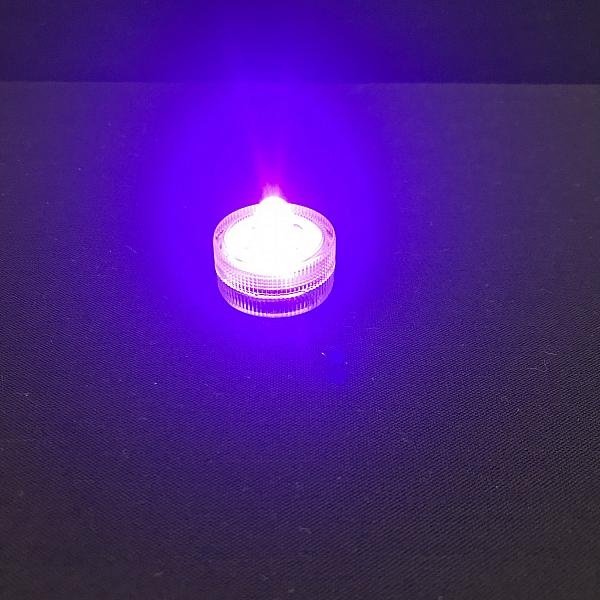 Water Submersible LED Light - Asst. Colours