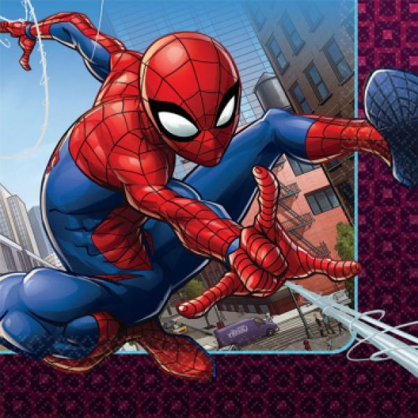 Spider Man Webbed Wonder - Napkins