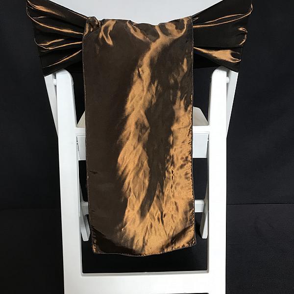 Chair Tie - Taffeta - Chocolate