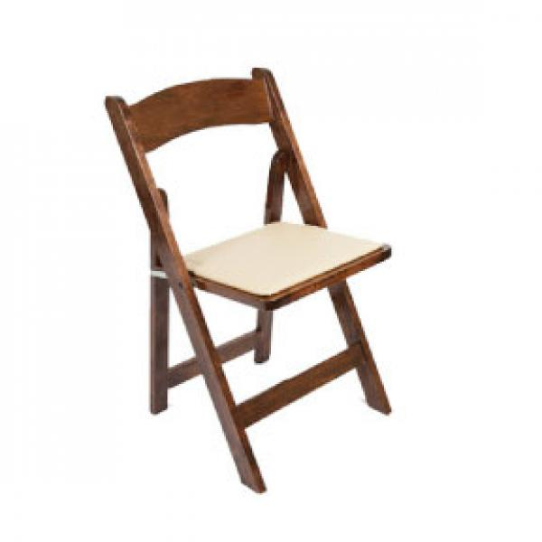 Folding Chair -  Wood - Hazelnut