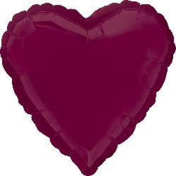"Mylar 18"" - Berry Heart"