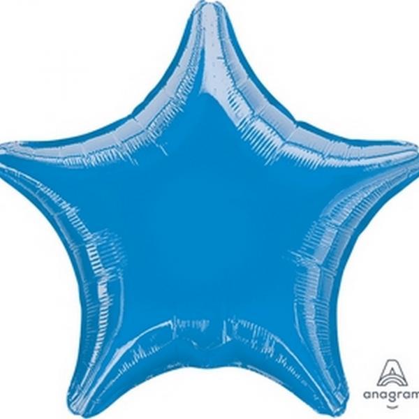 "Mylar 18"" - Blue Star"