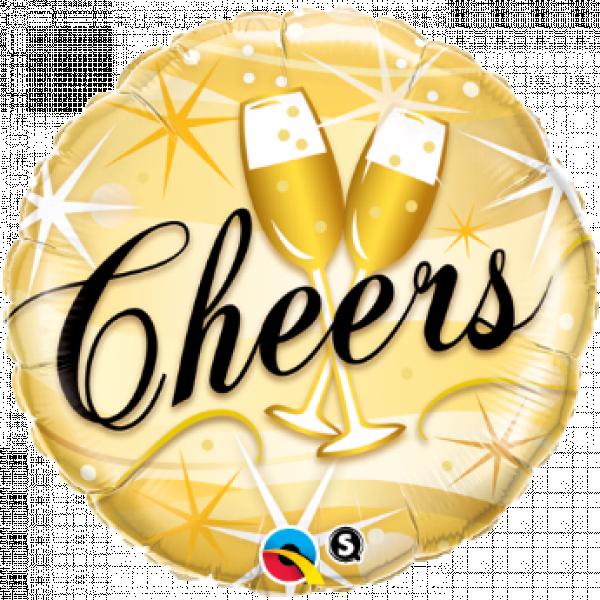 "Mylar - 18"" - Cheers"