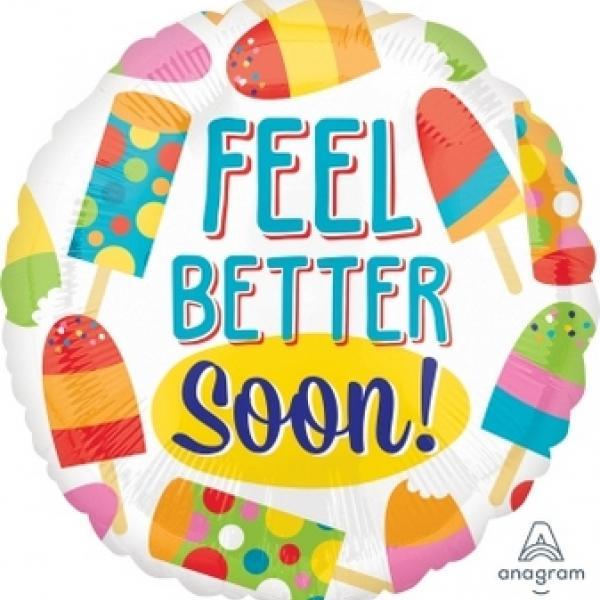 "Mylar - 18"" - Feel Better Soon"