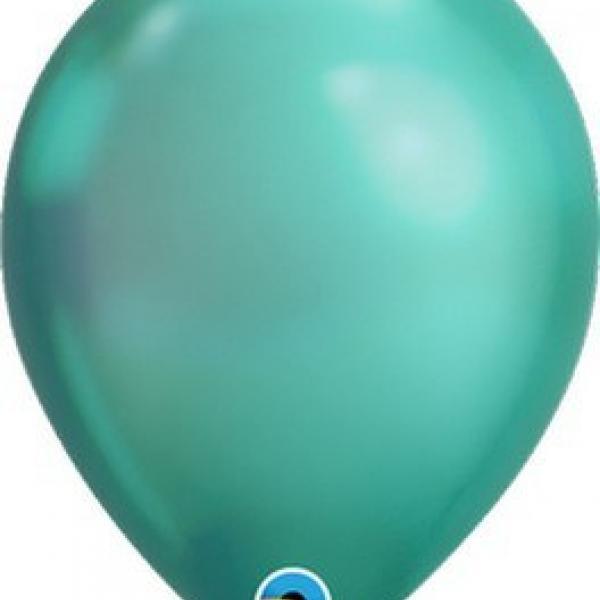 """Balloon - 11"""" Latex - Chrome Green"""