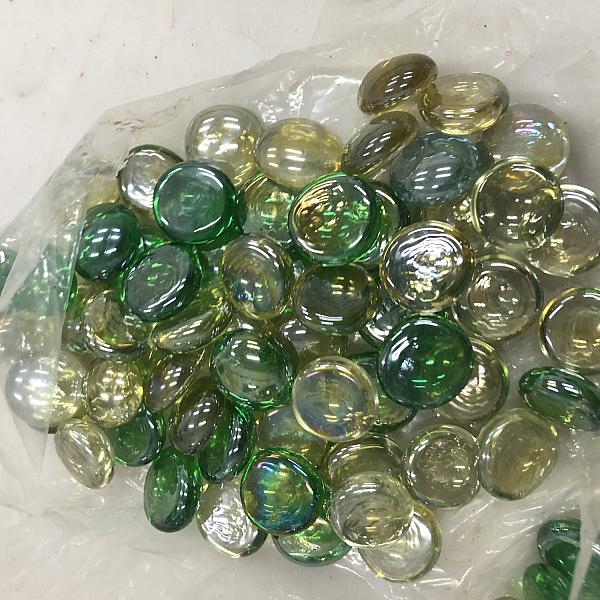 Gem Marbles - Green