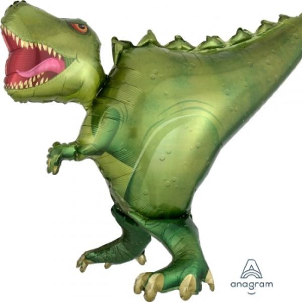 "Mylar - 36"" - T-Rex Supershape"