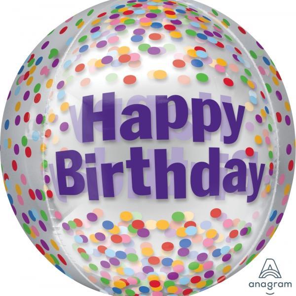 Orb - Happy Birthday Funfetti
