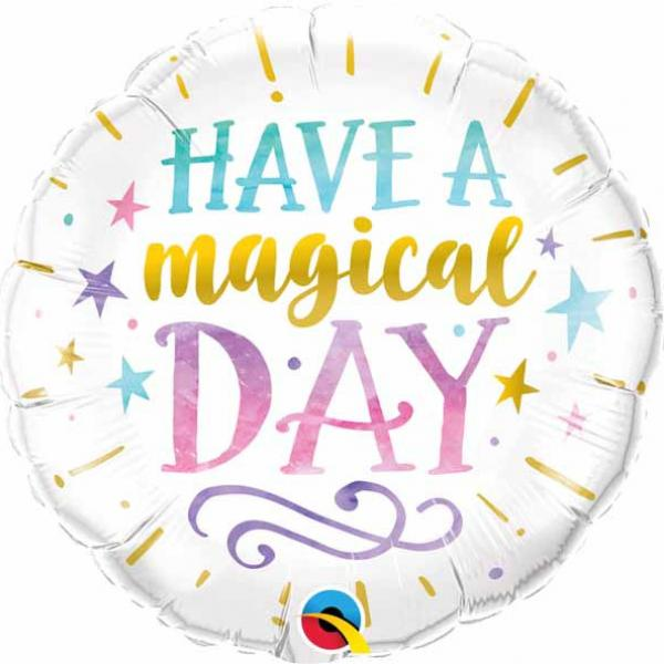 "Mylar - 18"" - Unicorn / Magical Day"