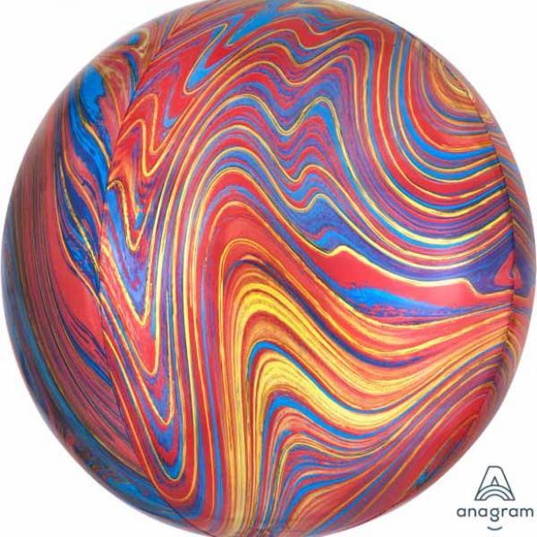 """Marblez Orbz - 16"""" - Mixed Colors"""
