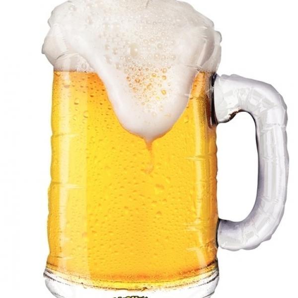 Mylar - Mighty Beer - Super Shape
