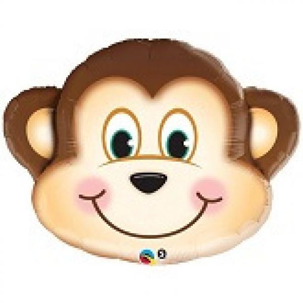 "Mylar - 35"" - Mischievous Monkey"