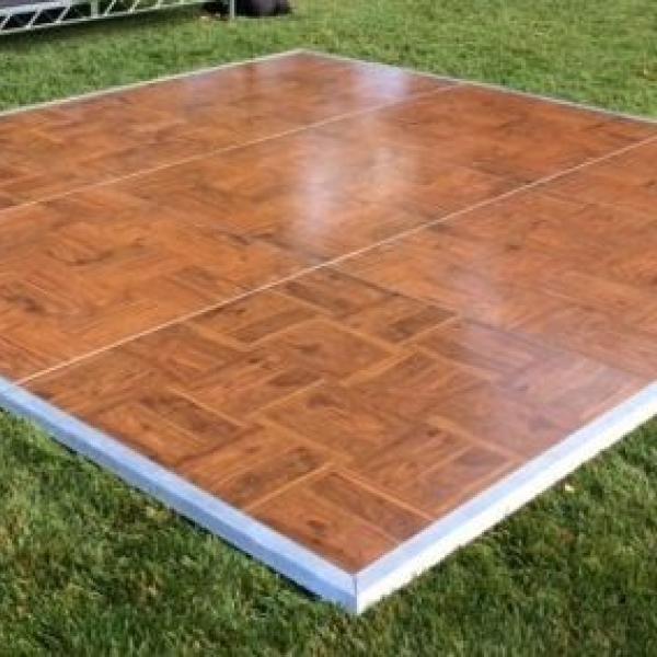 16'x18' Oak Dance Floor