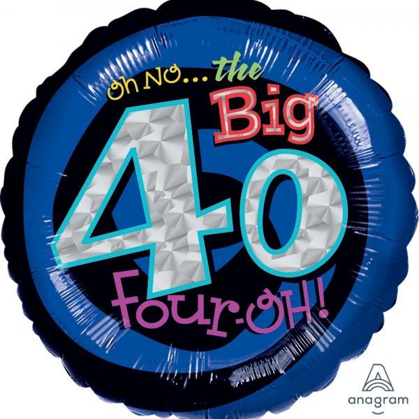 """Mylar - 18"""" - Oh No! 40"""