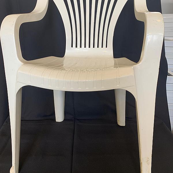Patio Chair - White