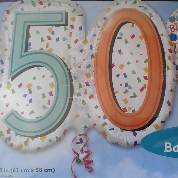 """Mylar - 24"""" Rainbow 50"""