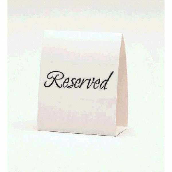Tablecard - Reserved