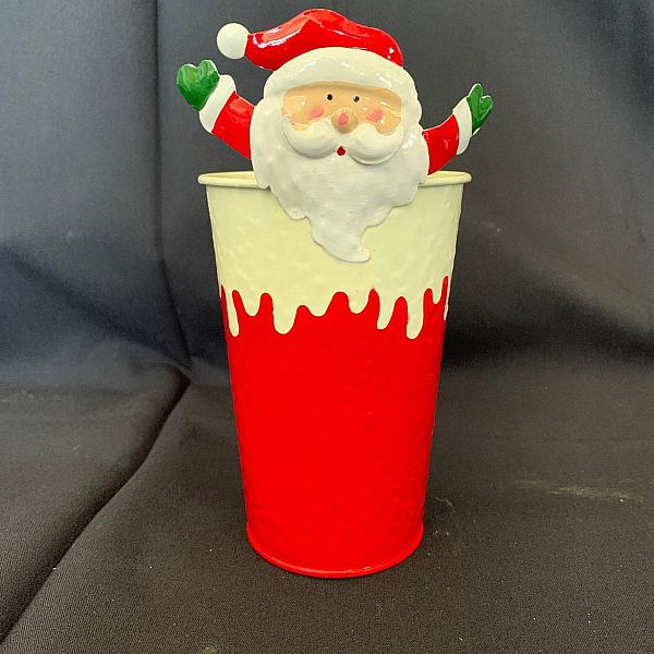 Santa Decorative Pot