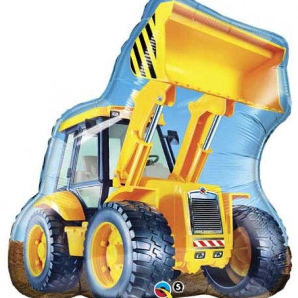 "Mylar - 32"" - Construction Loader"