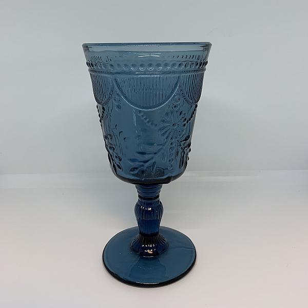 Vintage Glass - Cornflower Blue