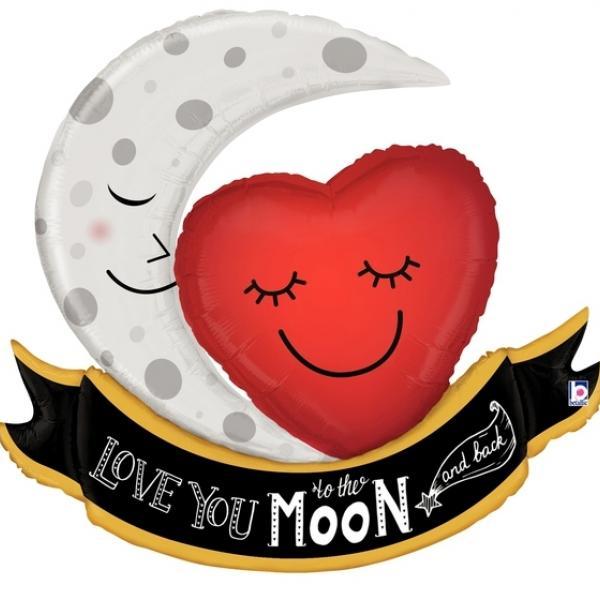 Mylar - Moon & Back Love
