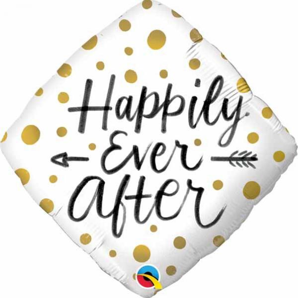 "Mylar - 18"" - Happily Ever After"