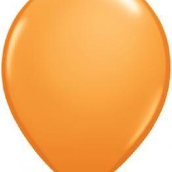 "Balloon - 11"" Latex - Orange"